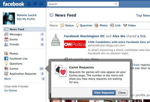 facebook social game