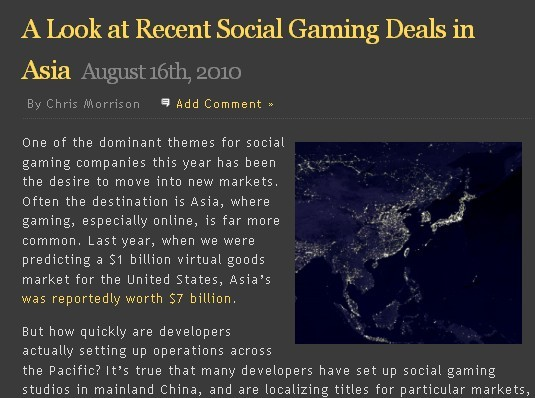 asia social game