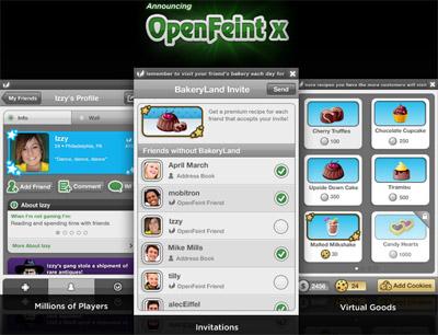 OpenFeint推出iphone和android跨平台游戏邀请功能