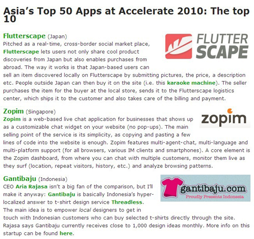 Asia's Top 10 Apps