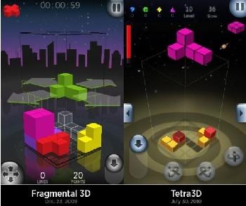 Fragmental 3D vs.Tetra 3D