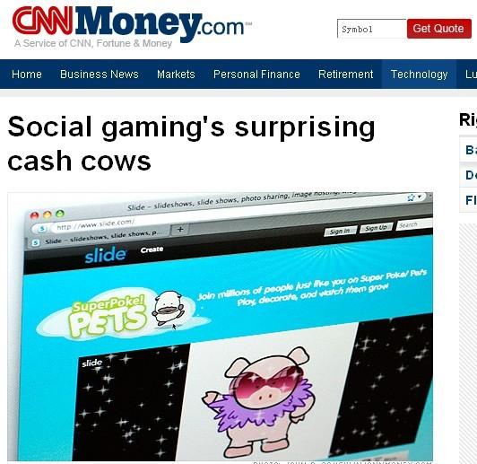 cnn social game