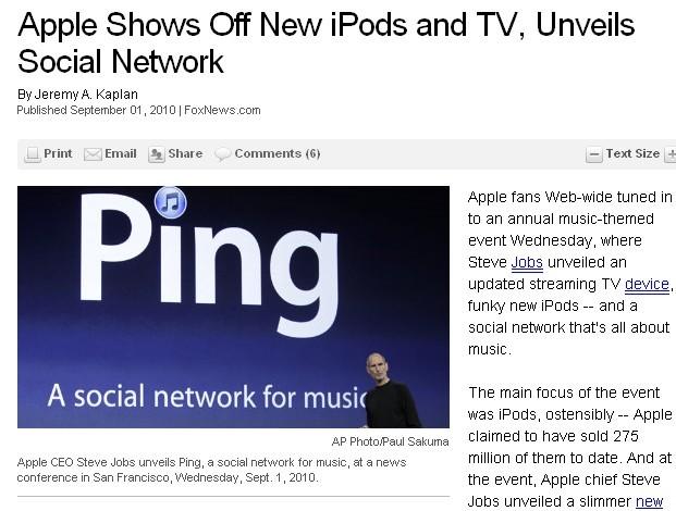 foxnews apple