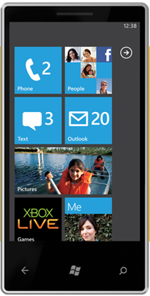 interface on WP7
