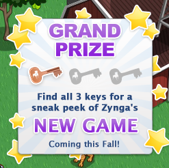 Zynga New Game Coming this fall