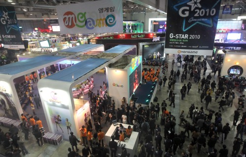 Visitors-crowd-the-G-Star-global-game-exhibition-in-Busan-on-Thursday
