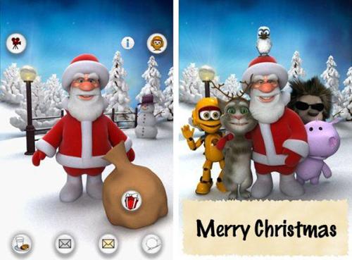 Talking-Santa