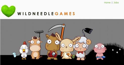 Wild Needle games-website