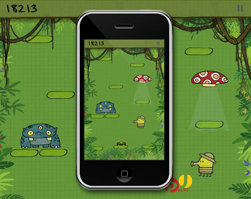 Doodle-Jump-mobile-game