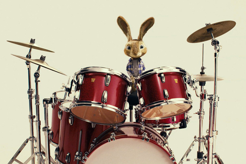 Easter-Bunny-drums-Hop-Movie