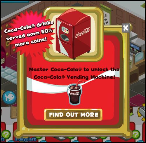 Restaurant City-Coca Cola