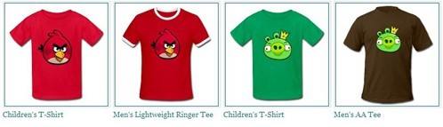 angry birds' T-Shirt