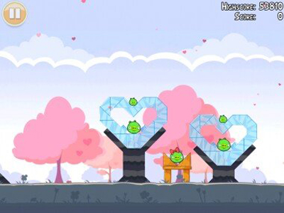 Angry Birds-Valentines