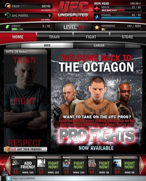 UFC Undisputed Fight Nation