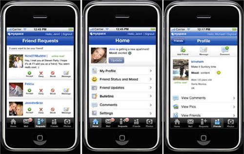 myspace-iphone-screens