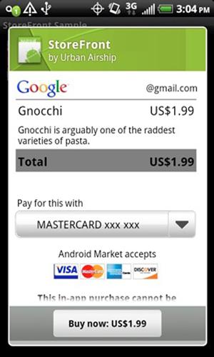 in-app android gnocchi