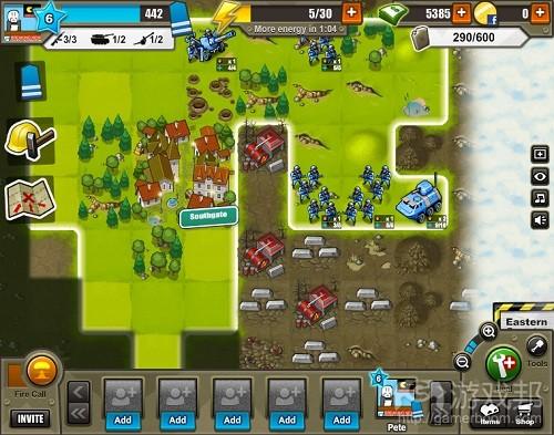 Army Attack(from insidesocialgames.com)