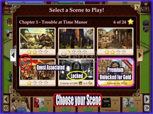 Finding Hidden Objects 1