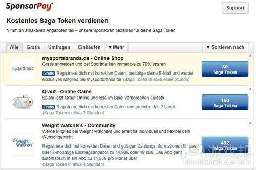 SponsorPay(from socialgamesobserver.com)