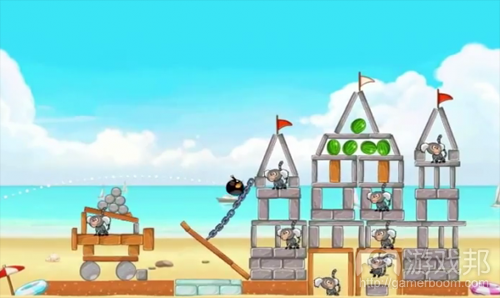new-angry-birds-rio-beach(from androidnews.apkfile.net)