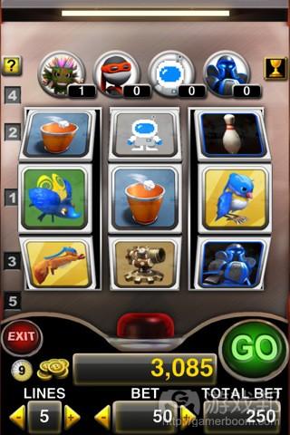 Backflip Slots(from itunes.apple.com)