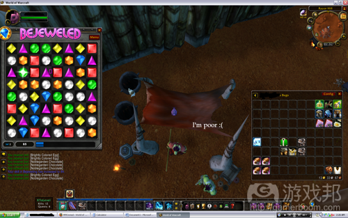 Bejeweled in WoW(from freewowguide.org)