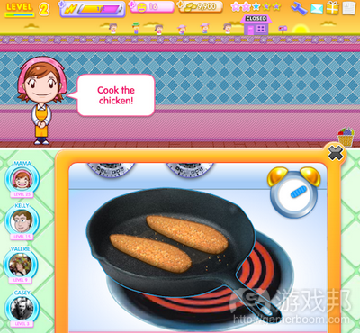 Cooking Mama from insidesocialgames.com