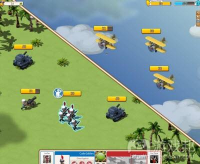 Zynga战斗策略游戏《Empires & Allies》
