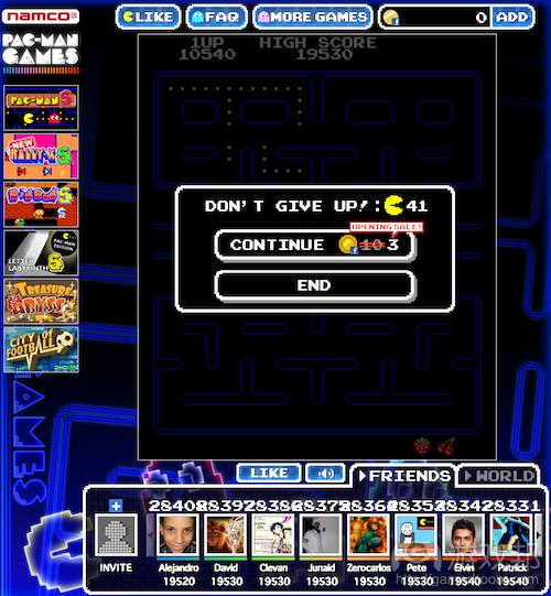 Pac-Man-Continue(from insidesocialgames.com)