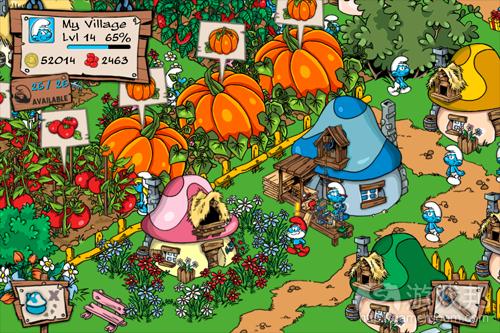 Smurfs' Village(from gamescheatonline.com)