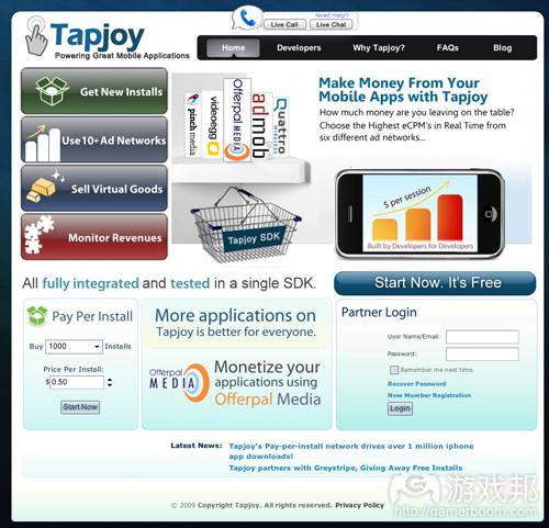 Tapjoy(from crunchbase.com)