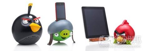 angry bird speakers(from pocketgamer.biz)