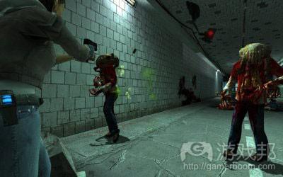 光照条件下,玩家会质疑隧道的安全性。本图所示为不安全的隧道(from gamasutra.com)