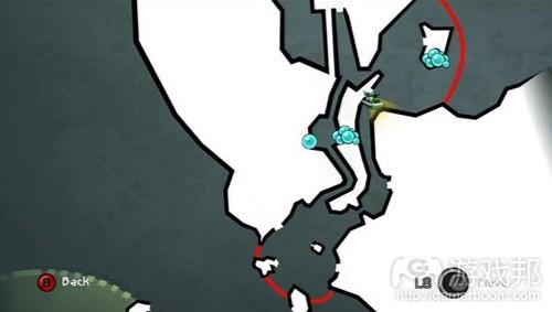 珍珠探测器可以在地图上显示所有珍珠,大大地改进了漫无目的地搜索方式(from gamedesignreviews)