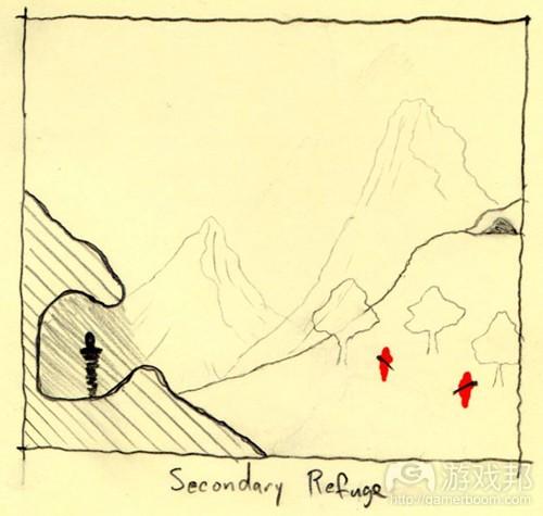 第二个避难所可以帮助躲藏的人寻找下一个避难所