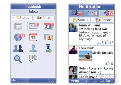 Facebook for Everyone Phone(from intomobile.com)