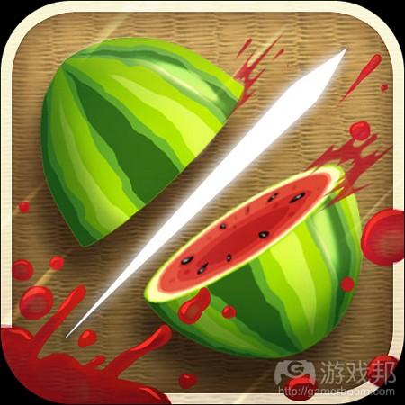 Fruit Ninja(from games.com)