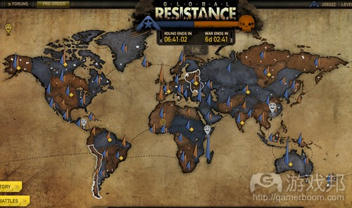 Global Resistance(from games)