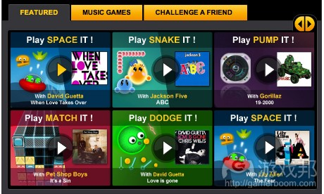 MXP4's Bopler Games on Facebook will feature tracks from EMI artists(from guardian)