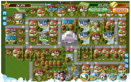 Millionaire City(from gamesfacebook.net)