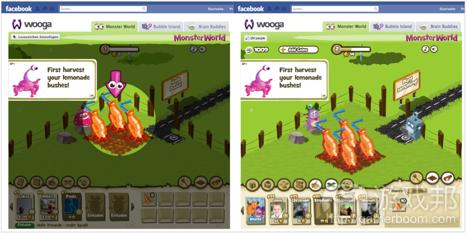 Monster World 1 from insidesocialgames.com