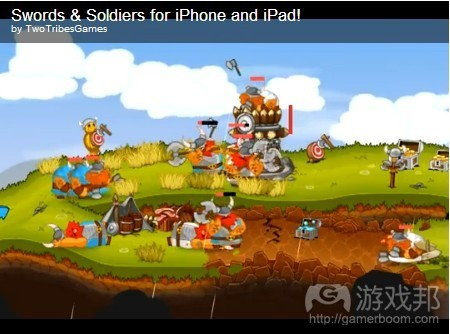 Swords & Soldiers(from pocketgamer)