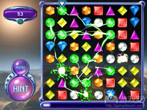 bejeweled(from bejeweled.softonic.cn)