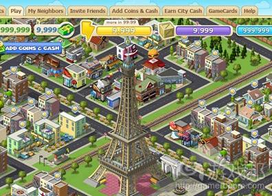 cityville(from RockYou(from socialgaminghub.com))