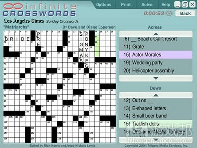crosswords from blogspot.com