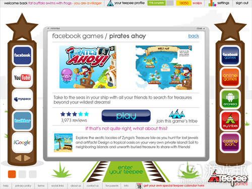 teepee-games(from insidesocialgames)