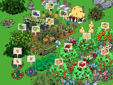 Smurfs' Village(from insidemobileapps)