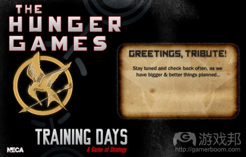 The Hunger Games Training Days(from games)