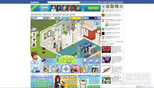 The Sims Social(from gamezebo)