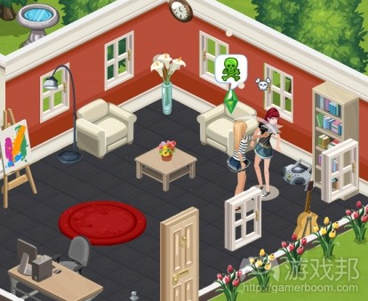 The Sims Social(from venturebeat)